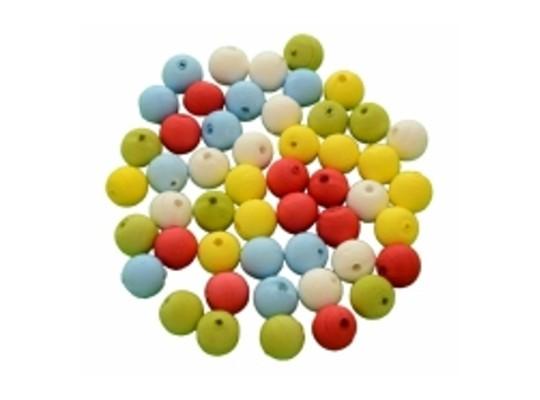 Vatové kuličky s otvorem-malé