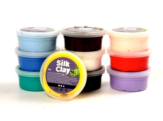 Hmota modelovací Silk Clay-sada
