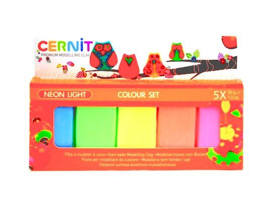 Cernit modelína-neonová