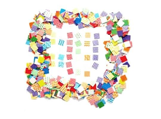 Mozaika papírová dekorační