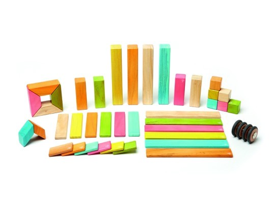 Stavebnice magnetická-Tegu barevná