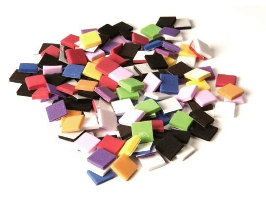 Pěnovka moosgummi samolepicí-mozaika-malá