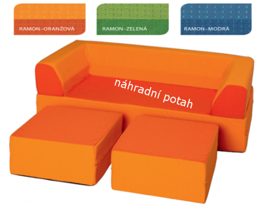 Souprava Vario náhradní potah oranžový