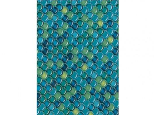 Papír na decoupage-modrý