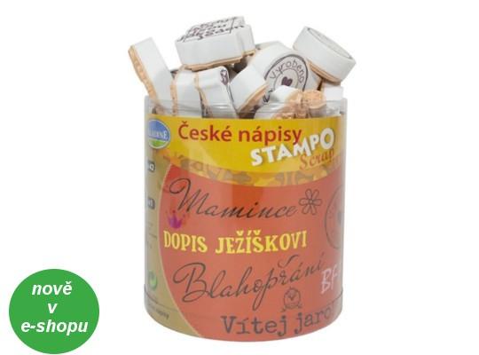 Razítka Stampo české nápisy