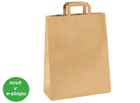 Taška z papíru velká-přírodní