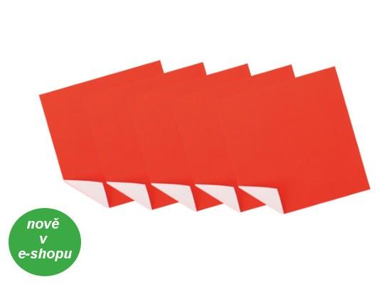 Papír na skládání červená/bílá