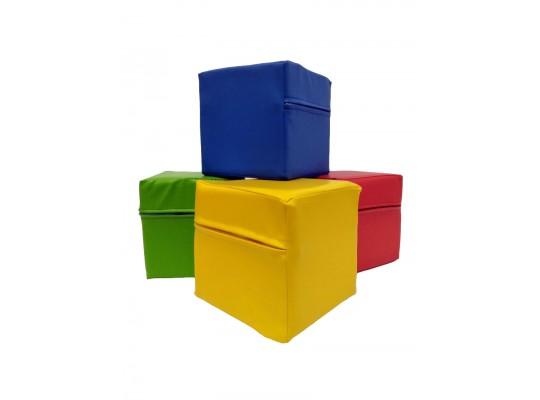 Kvádr z PUR pěny-koženka-30x15x15cm (poslední 1 ks)
