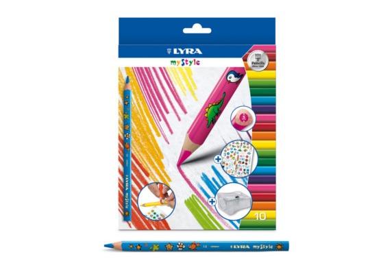 Pastelky Lyra My Style
