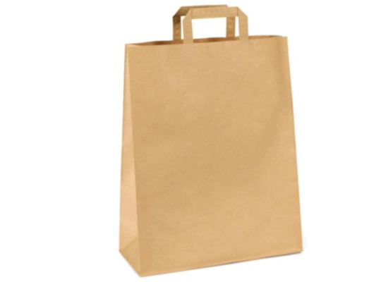 Taška z papíru-přírodní velká