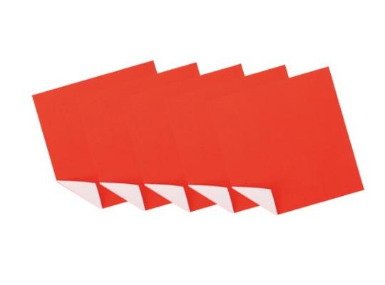 Papír na skládání-červenobílý