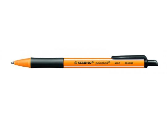 Pero kuličkové Stabilo Pointball-černé