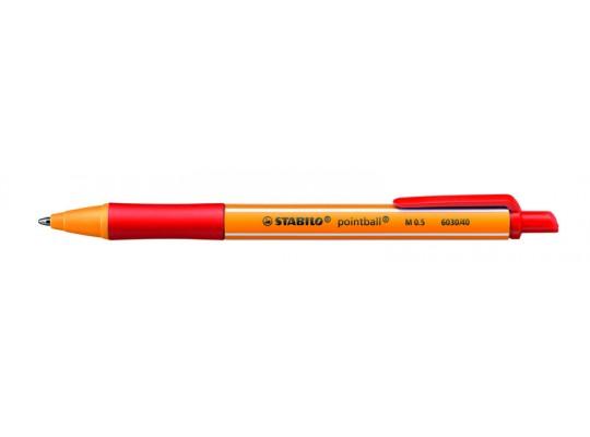 Pero kuličkové Stabilo Pointball-červené