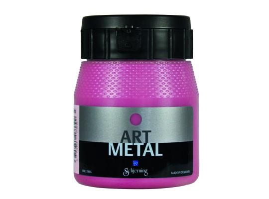 Barva Art Metal-červená