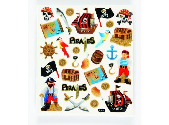 Samolepky pirát