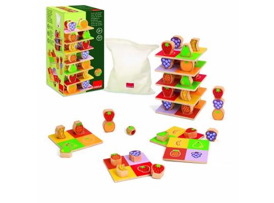 Věž ovocná-hra didaktická