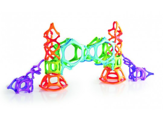 Stavebnice magnetická-Powerclix Organics