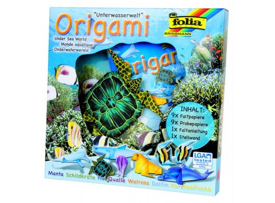 Origami mořský svět-sada