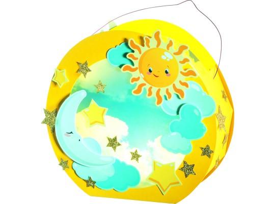 Sada na výrobu lampionu II.-slunce, měsíc, hvězda