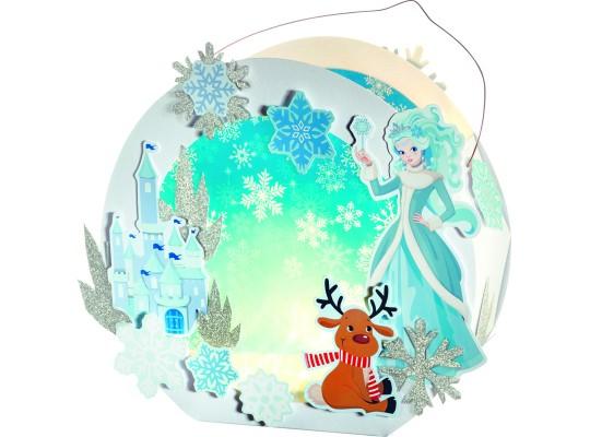 Sada na výrobu lampionu II.-sněhová princezna