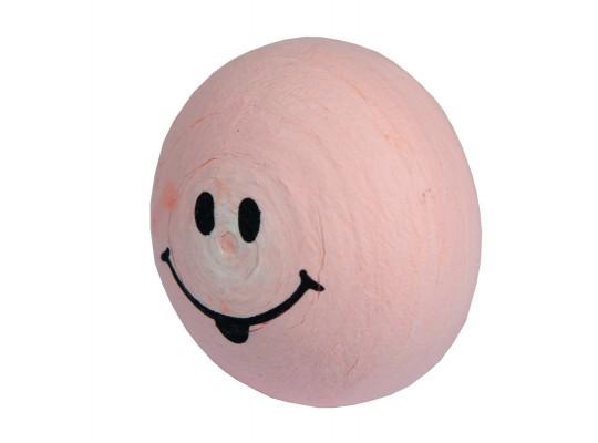 Vatový piškot obličej-růžový