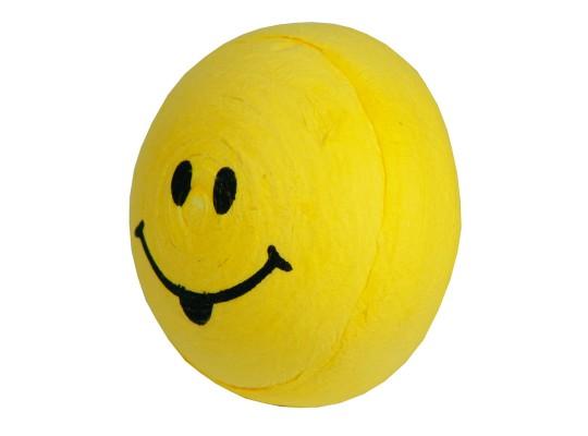 Vatový piškot obličej-žlutý