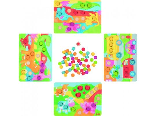 Hra kostková-barvičky