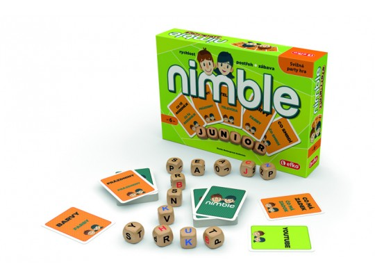 Nimble junior-hra desková