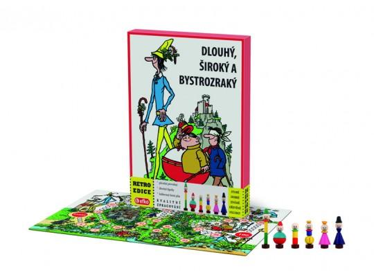 Dlouhý, Široký a Bystrozraký-hra desková