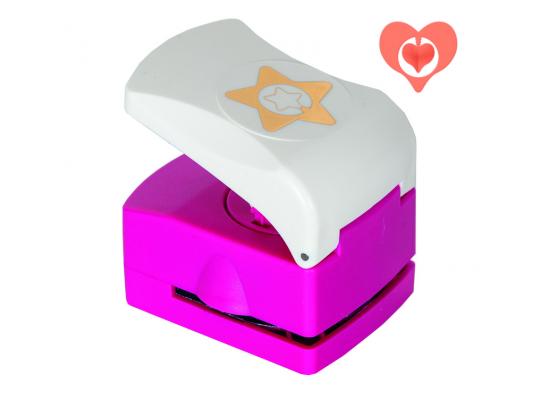Raznice 3D embosovací-srdce