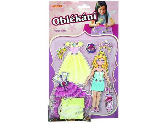 Oblékání panenka