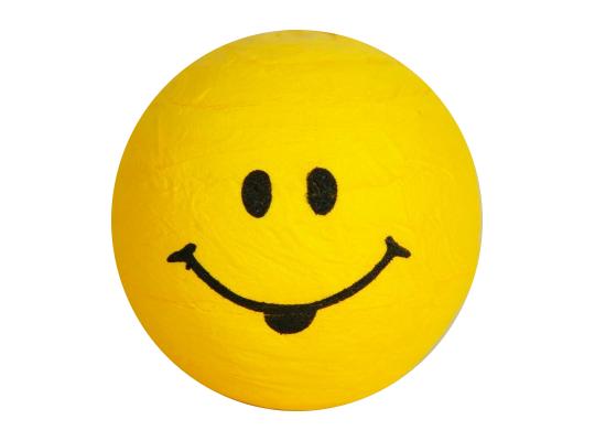 Vatová hlavička obličej-žlutá