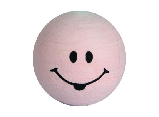 Vatová hlavička obličej-růžová