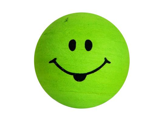 Vatová hlavička obličej-zelená