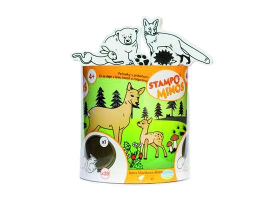 Razítka Stampo zvířátka lesní