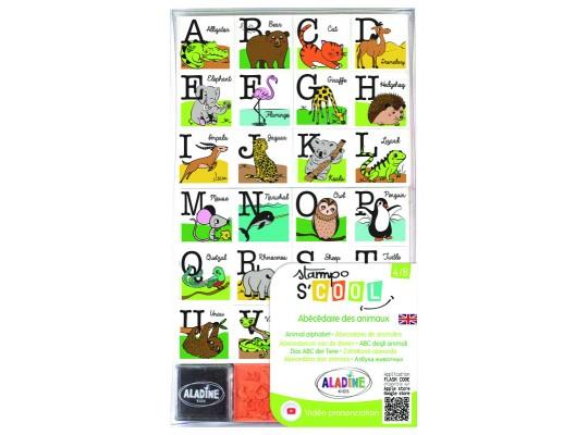 Razítka Stampo abeceda-angličtina