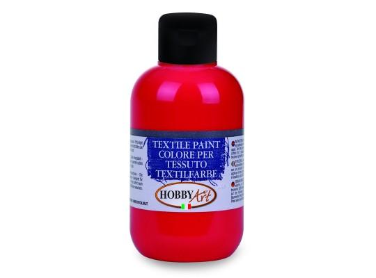 Barva na textil-červená