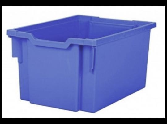 Box plastový 30 l-modrý