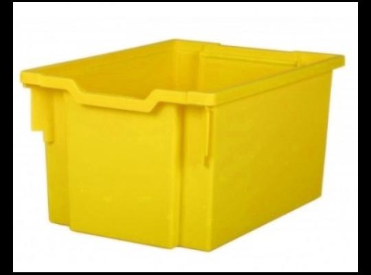 Box plastový 30 l-žlutý