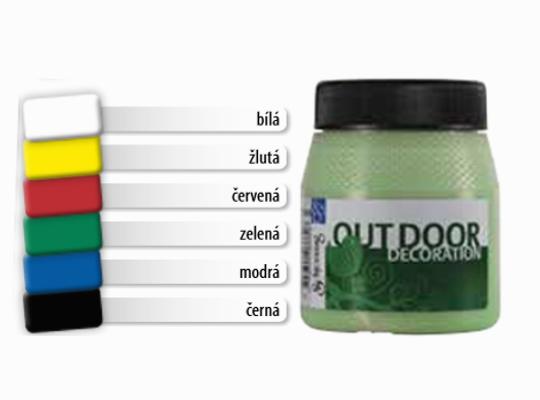 Barvy Outdoor Decoration-sada základní