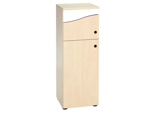 Prvek herní-Kuchyň dětská-lednice velká-40x110x38cm-dveře levé-dekor bříza