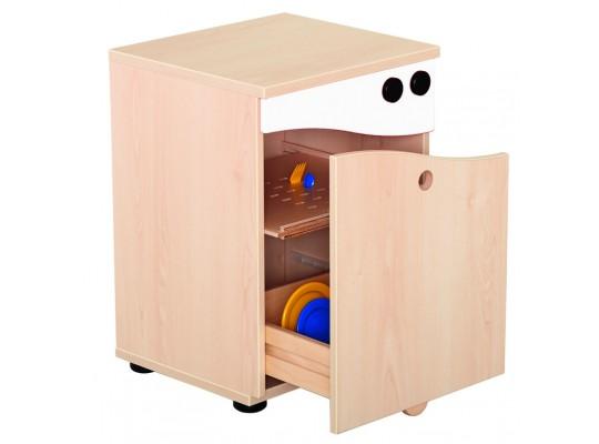Prvek herní-Kuchyň dětská-myčka-40x55x38cm-dekor bříza