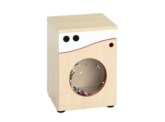 Prvek herní-Kuchyň dětská-pračka-40x55x38cm-dveře levé-dekor bříza