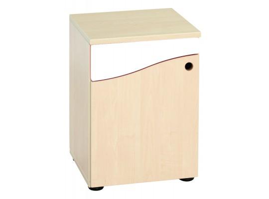 Prvek herní-Kuchyň dětská-skříň nízká-40x55x38cm-dveře levé-dekor bříza