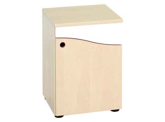 Prvek herní-Kuchyň dětská-skříň nízká-40x55x38cm-dveře pravé-dekor buk