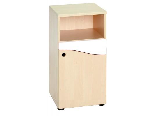 Prvek herní-Kuchyň dětská-skříň vysoká-40x75x38cm-dveře pravé-dekor bříza