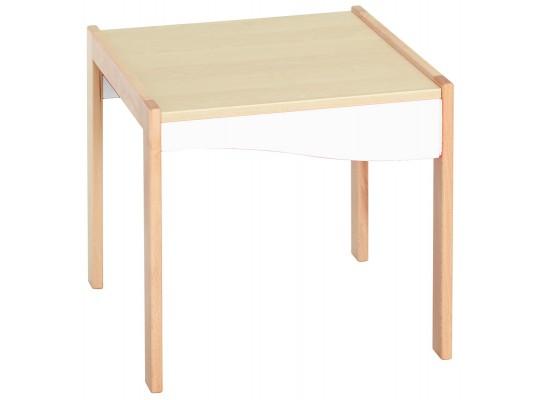 Prvek herní-Kuchyň dětská-stůl vysoký-50x45x50cm-dekor buk