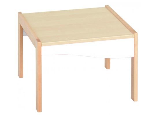 Prvek herní-Kuchyň dětská-stůl nízký-50x34x50cm-dekor buk