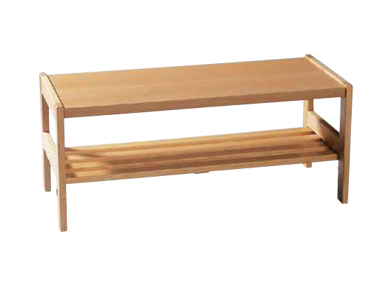 Šatna-lavice/rošt dřevěný 100x34x32cm-pro 5 dětí