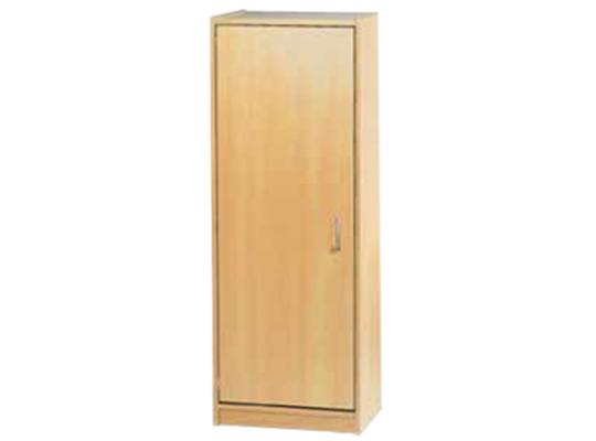 Skříň-sokl-50x140x42cm-dveře levé-police 3-dekor buk